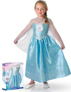Premium Kostüm Elsa Die Eiskönigin für Mädchen hellblau