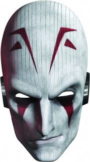 Star Wars Rebels Masken für Kinder 6 Stück bunt 13x24,5cm