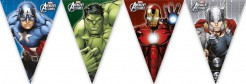 Avengers Wimpel-Girlande Party-Deko bunt 260cm