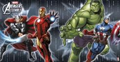 Avengers Platzdeckchen Party-Deko 4 Stück bunt 25x36cm
