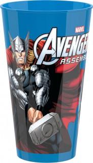 Plastik Becher Lizenzartikel Avengers bunt
