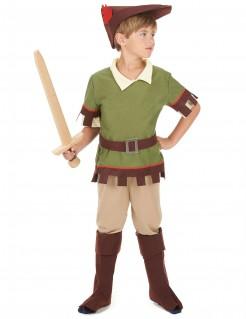 Robin Hood Kinderkostüm Bogenschütze grün-braun