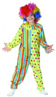 Clown Kinder-Kostüm bunt