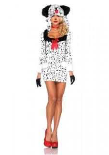Süsses Dalmatiner-Hundekostüm für Damen