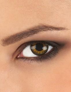 Kontaktlinsen Galaxie braun