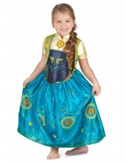 Disney Frozen Anna Prinzessin Kinderkostüm Deluxe Lizenzware blau-gelb