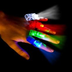 Set LED Leuchten für die Finger