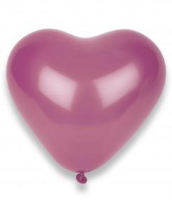 Herz Luftballons Party Zubehör 50 Stück rosa