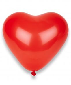 Herz Luftballons Party Zubehör 50 Stück rot
