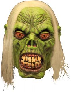 Radioaktiver Zombie Halloween-Maske grün