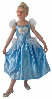 Disney Cinderella Prinzessin Kinderkostüm Lizenzware blau-weiss