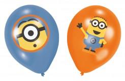 Ich - Einfach unverbesserlich™ Latex-Luftballons 6 Stück Lizenzware