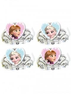 Disney Frozen Prinzessin-Set Kronen 4 Stück bunt 7,5x4,5cm