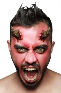 Dämonenhörner Horror Make-up haut