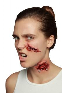Blutsauger-Biss Horror-Wunde Make-up haut