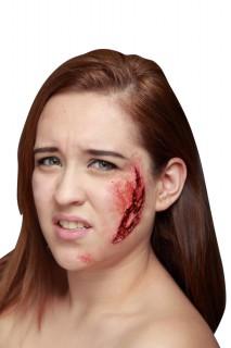 Fieser Kratzer Horror Make-up haut