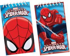 Spiderman™ Notizblöcke 12 Stück Lizenzartikel