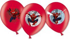 Spiderman™ Luftballons 6 Stück Lizenzware