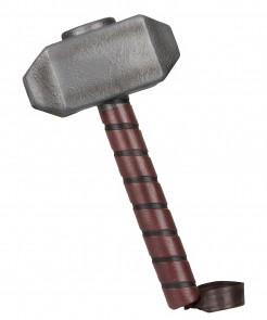 Hammer des Thor für Erwachsene grau-braun