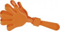 Klapperhand orange