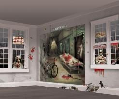 Horror-Labor Halloween Mega Deko-Folien-Set 32-teilig bunt