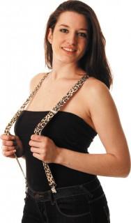 Hosenträger Leopard für Erwachsene