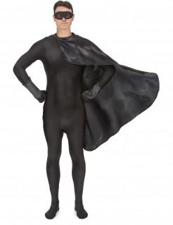Superhelden-Set für Erwachsene schwarz