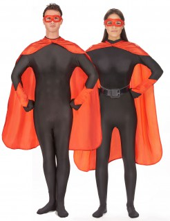 Superhelden-Set für Erwachsene rot