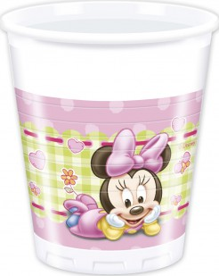 Set Becher Baby Minnie 20cl