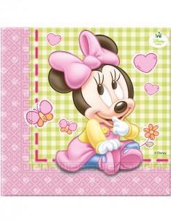 Disney Baby™ Minnie Maus™ Partyservietten Kindergeburtstag Lizenzware 20 Stück bunt 33x33cm