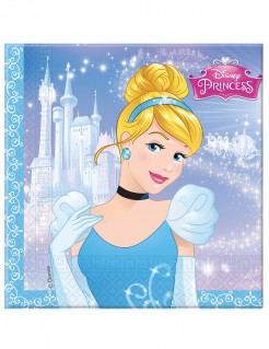 Cinderella™ Partyservietten 20 Stück Lizenware 33x33cm