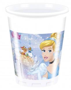 Cinderella™ Partybecher 8 Stück Lizenzartikel 200ml