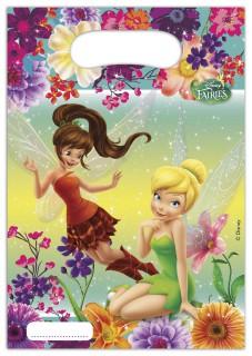 Disney Fairies™ Geschenktüten Lizenzware 6 Stück bunt