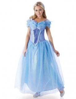 Disney Cinderella Prinzessin Damenkostüm Lizenzware blau-lila