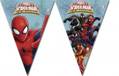 Spiderman Wimpel-Girlande Party-Deko bunt 260cm