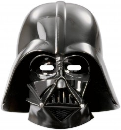 Star Wars Masken Party-Zubehör 6 Stück schwarz 23x25cm