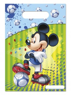 Disney™ Mickey Maus™ Geschenktüten Lizenzware 6 Stück bunt 16x22cm