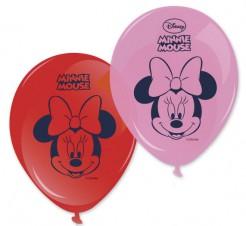 Minnie Maus™ Luftballons Disney-Lizenzartikel 8 Stück rot-rosa