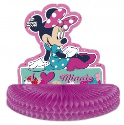 Tischdekoration Minnie Mouse Kindergeburtstags-Tischdeko bunt 27 x 28cm