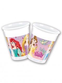 Disney Prinzessinnen™ Trinkbecher 8 Sück Lizenzware 200ml