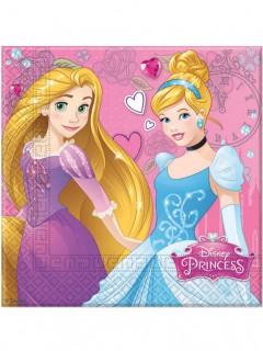 Disney Prinzessinnen™ Partyservietten 20 Stück Lizenzware 33x33cm