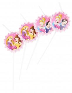 Disney Prinzessinnen™ Strohhalme 6 Stück Lizenzware