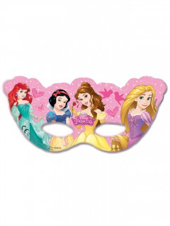 Prinzessinnenmasken von Disney 6 Stück
