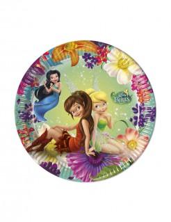 Tinkerbell™ Partyteller 8 Stück Lizenzware 20cm