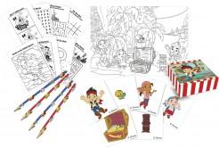 Jake und die Nimmerland Piraten™ Zeichen-Set Lizenzware