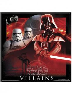 Star Wars Servietten Villains Party-Deko 20 Stück bunt 33x33cm