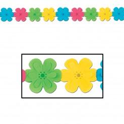 Girlande mit Blumen