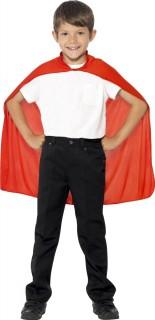 Kinder-Umhang Kostümzubehör rot