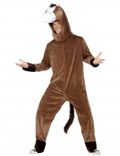 Pferd-Kostüm Erwachsene braun