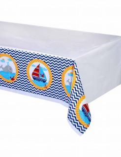 Seemann-Tischdecke in der Größe 130 x 260 cm